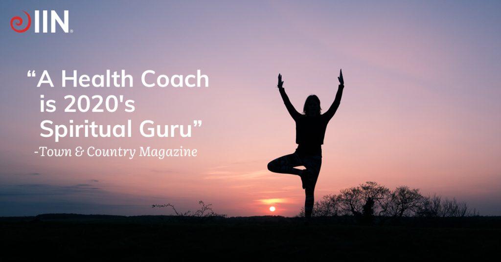 IIN Health Coach is the 2020 Spiritual Guru.